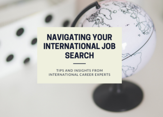 Navigating Your International Job Search